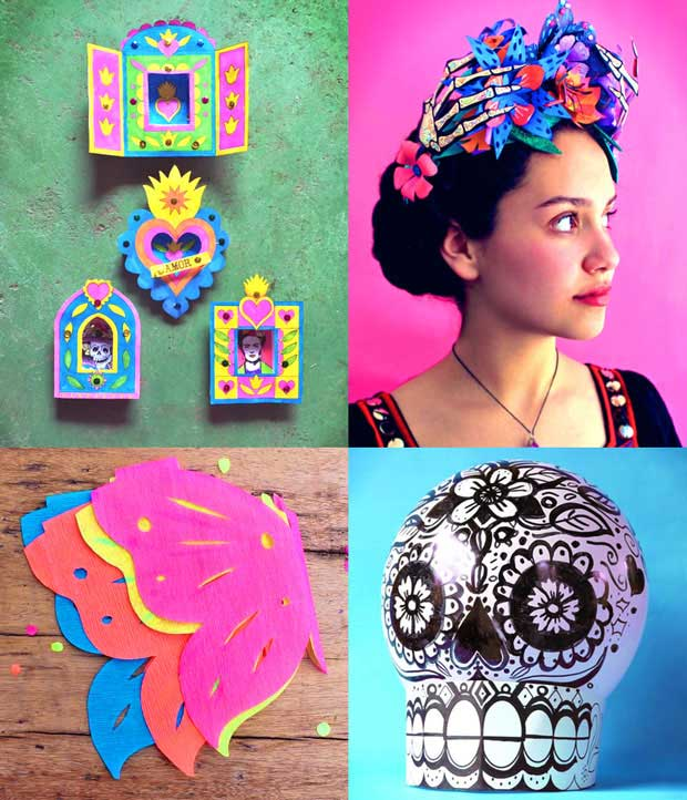 Ps Dont Forget All These Fabulos Craft Projects For The Day Of Dead