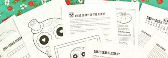 Day of the Dead worksheets