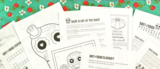 Worksheets Day Of The Dead Worksheets day of the dead worksheets 10 dia de los muertos activities download over 40 educational fun for el dia