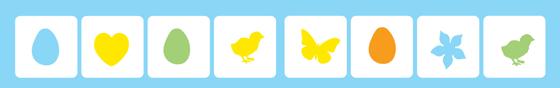 Easter game ideas - Bingo icons!