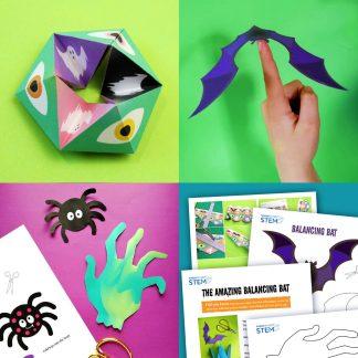 Halloween STEM activities-set-printable
