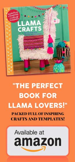 Happythought Llama Craft book by Ellen Deakin