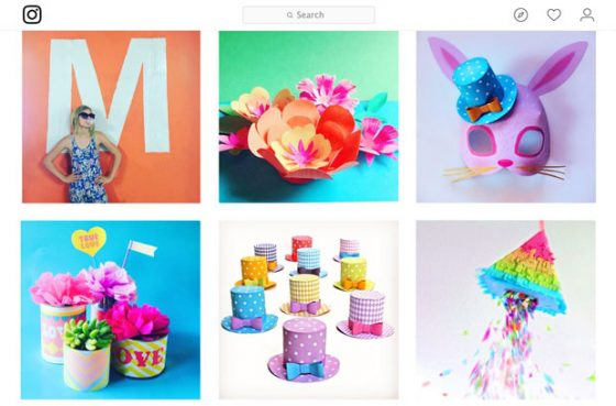 Happythought Instagram for tutorials, craft videos and printable templates