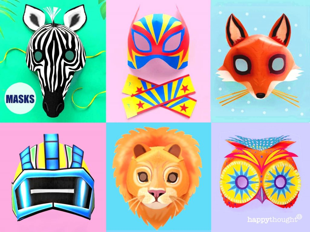 The best printable mask templates