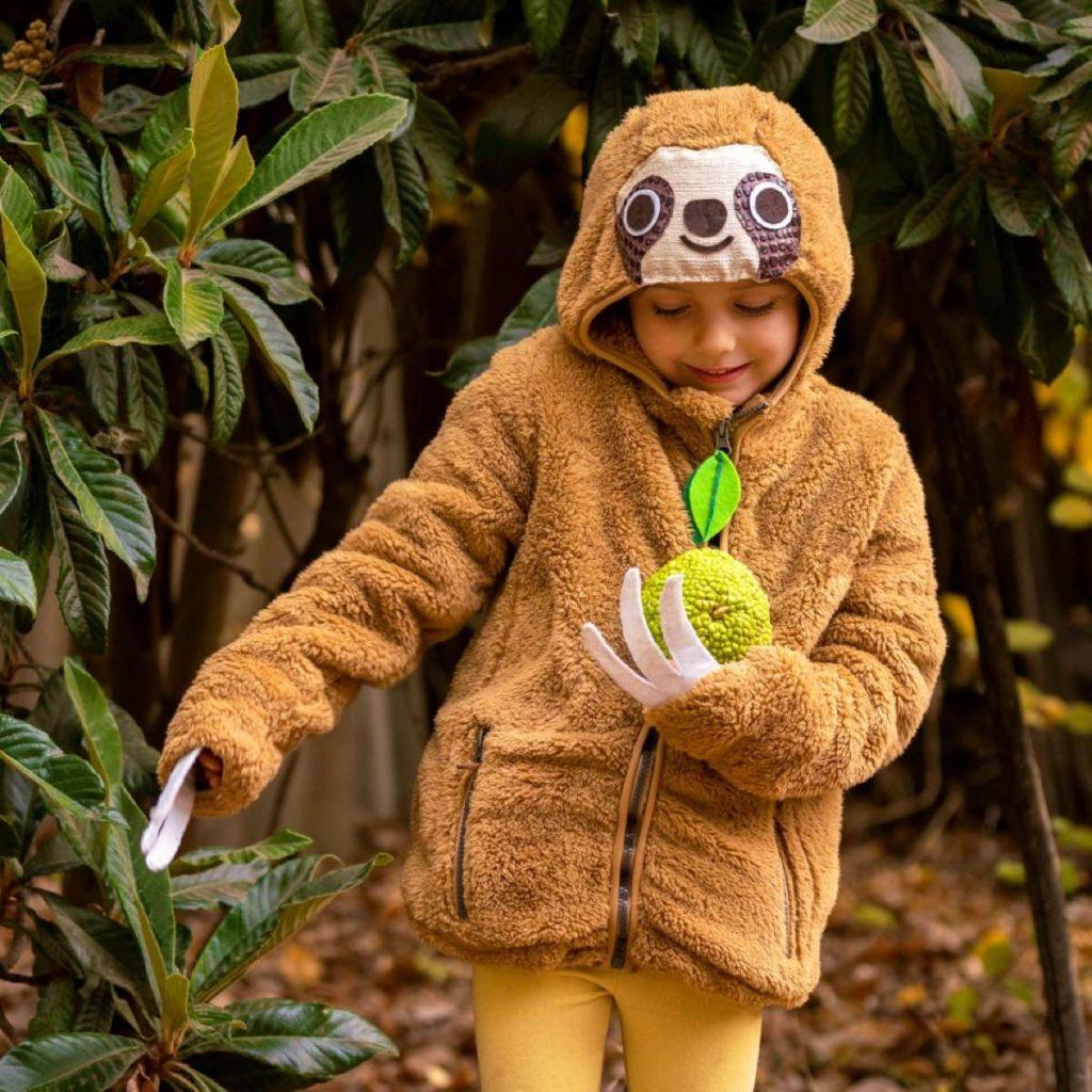 How to make a DIY sloth hoody craft tutorial