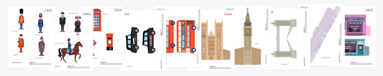London printable activity pack: Famous Landmarks, people and figures!