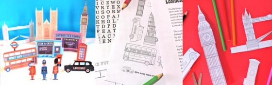 Learn about London worksheets and printables of famous English Landmarks and characters!
