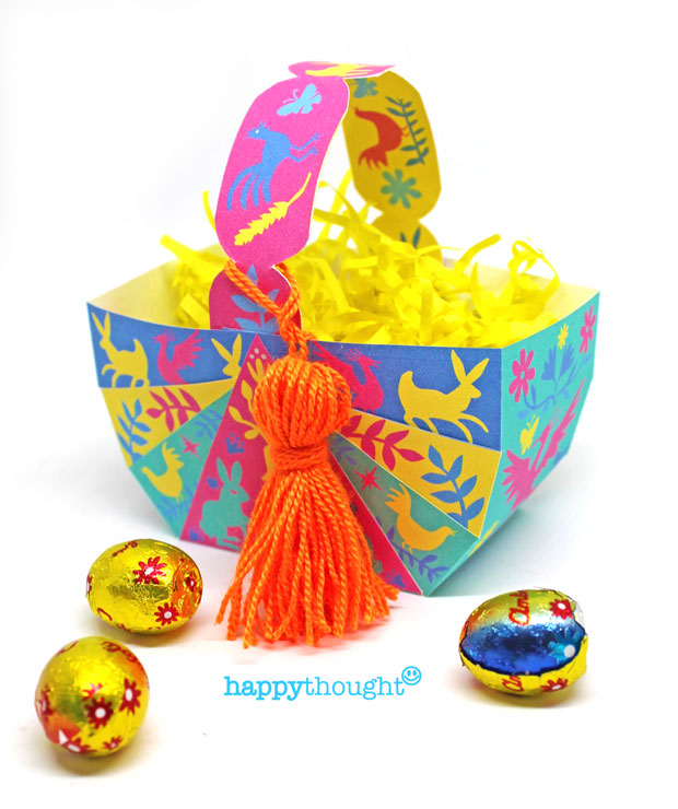 picture relating to Easter Basket Printable identify Do-it-yourself Easter baskets - Establish egg baskets with Do-it-yourself education