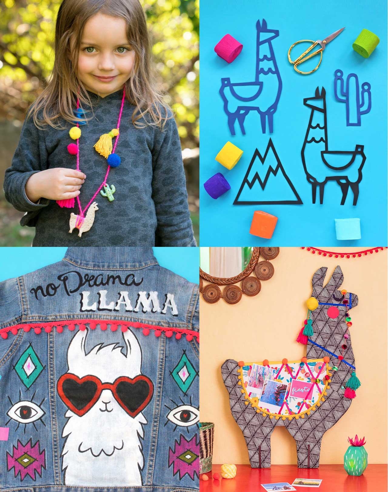 Make your own llama crafts with our fantastic 'Llama Crafts' book