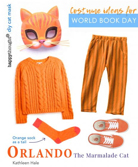 Orlando cat DIY home costume ideas with instantly printable paper mask