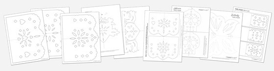 9 stylish papel picado template patterns to make and display!