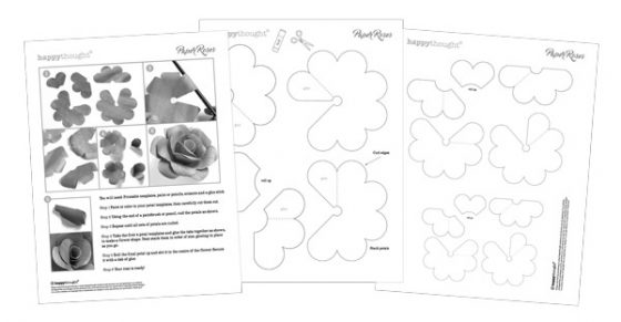 Fun craft activity idea: How to make a paper rose for Valentines Day