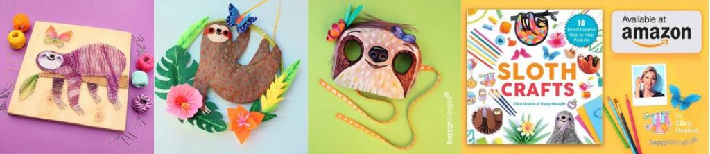 Sloth-Crafts-book-Popular-craft-book-for-all-ages