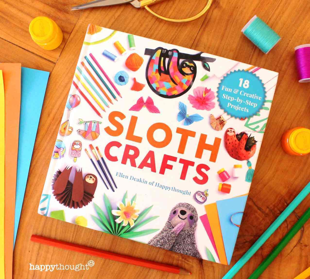 Sloth Crafts by Ellen Deakin of Happythought