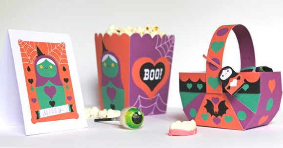 Halloween party printables. Homemade party decoration templates, ideas, patterns and cutouts!