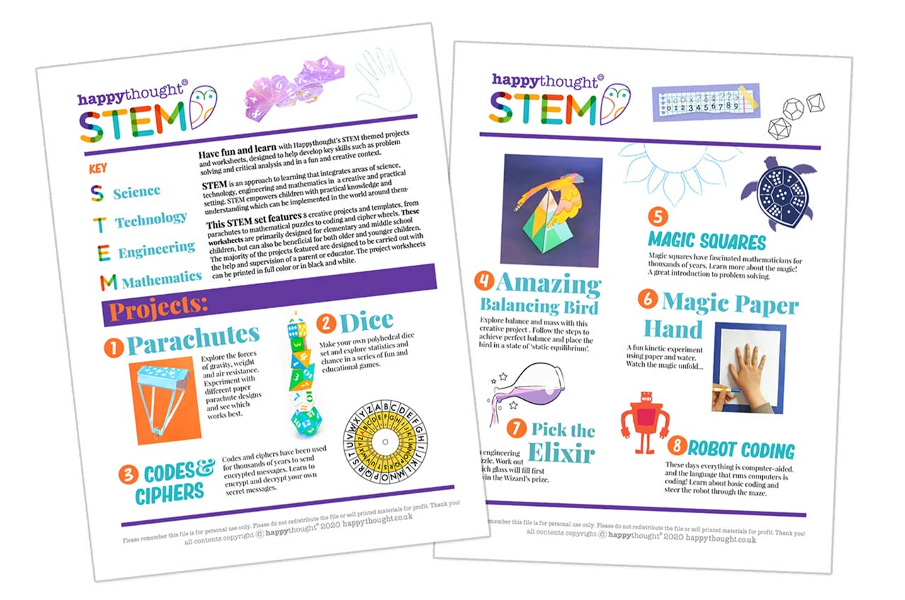How to create STEM class activities for ages 8 and up