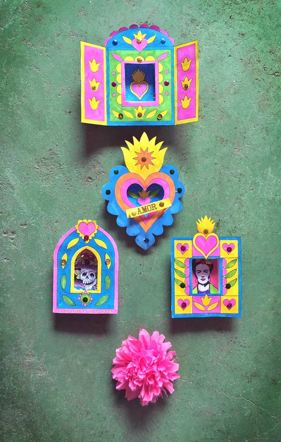 Nicho craft activity ideas: Shadow box frame templates!