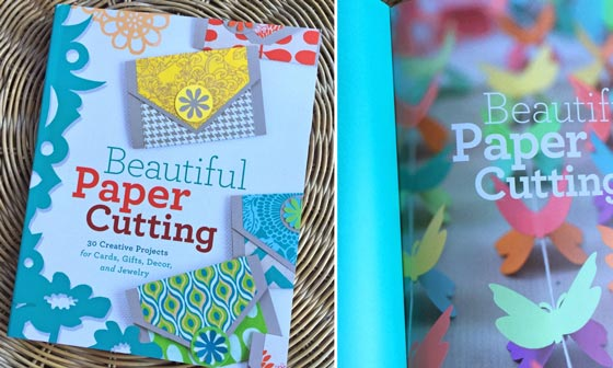 Beautiful Paper Cutting book from Kindle: Paper craft ideas!
