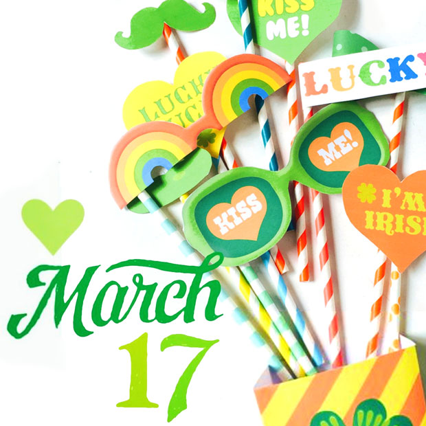 Celebrate march 17th St Patrick's Day classroom and party activities