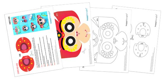 Templates cutouts and patterns for Chinese New Year, Year of the Monkey!