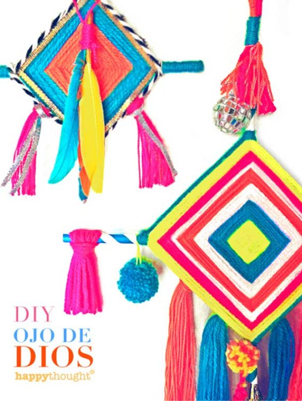 ojo de dios craft