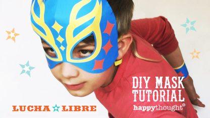 12 máscaras imprimibles de Lucha Libre