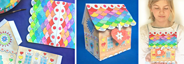 Festive holiday craft activities for class, art club, after school and home projects