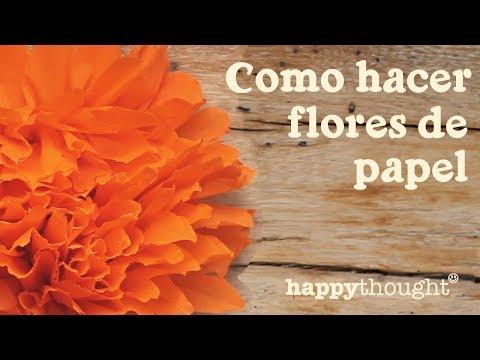 Dia De Los Muertos Paso A Paso Flores De Papel Mexicanas