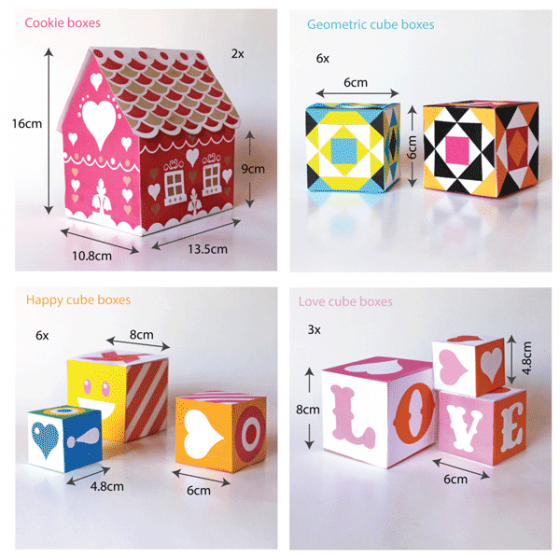 gift box templates perfect for presents over 30 patterns and cutouts