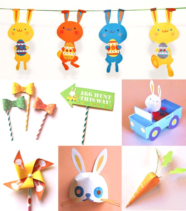 Easter Holiday Ideas  Diy Easter Freebies And Printables  More