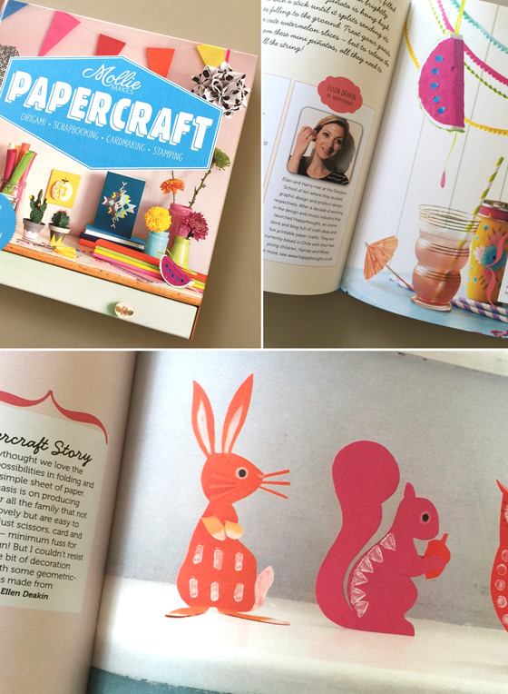 Mollie papercraft book: Paper craft art ideas!