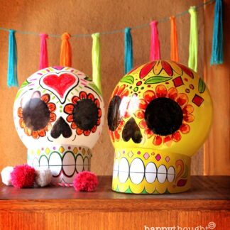 Globos calavera para el Día de los Muertos ¡Fáciles de hacer!