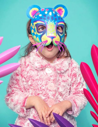 How to make a jaguar Alebrije papercraft pdf mask