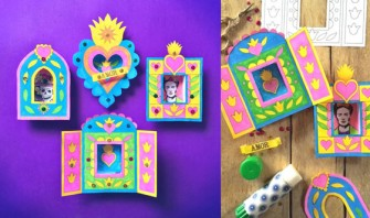 Day of the Dead nicho craft activity