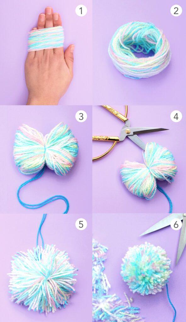 Befolgen Sie diese 6 Schritt-für-Schritt-Anleitungen und machen Sie sich im Handumdrehen diesen entzückenden Pompon