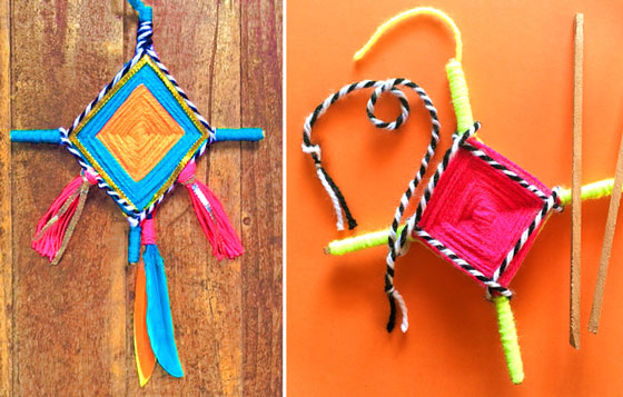 Summer camp activities: Try our Ojo de Dios tutorial