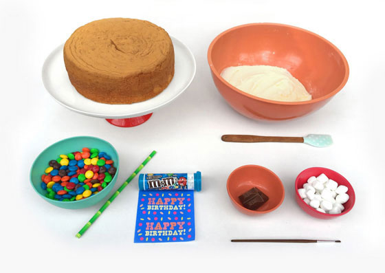 Ingredients kids birthday cake ideas - Anti gravity cakes!