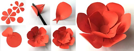 How to make a paper flower crown for cinco de mayo next paint the headband template and apply your paper flowers to the base mightylinksfo