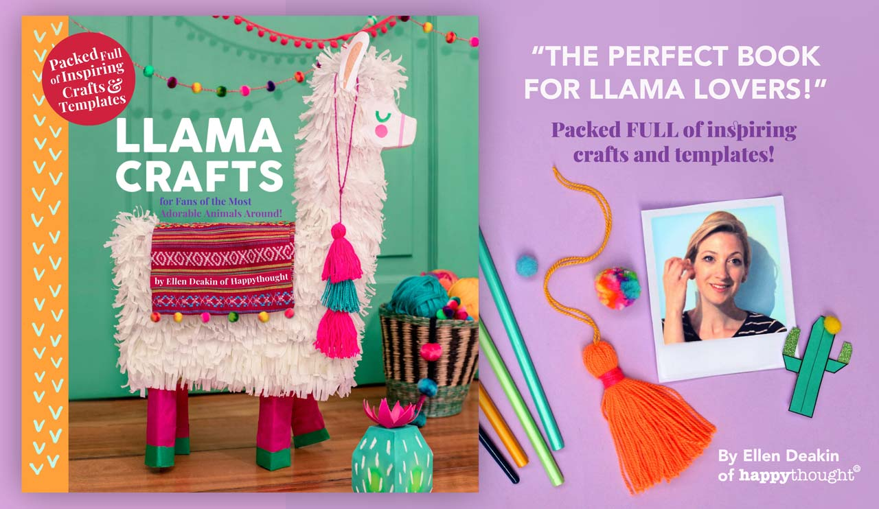 Llama crafts books on Amazon - 15 amazing crafts to make at home
