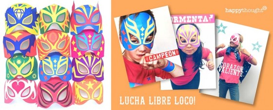 DIY lucha libre mask: 12 templates and designs!
