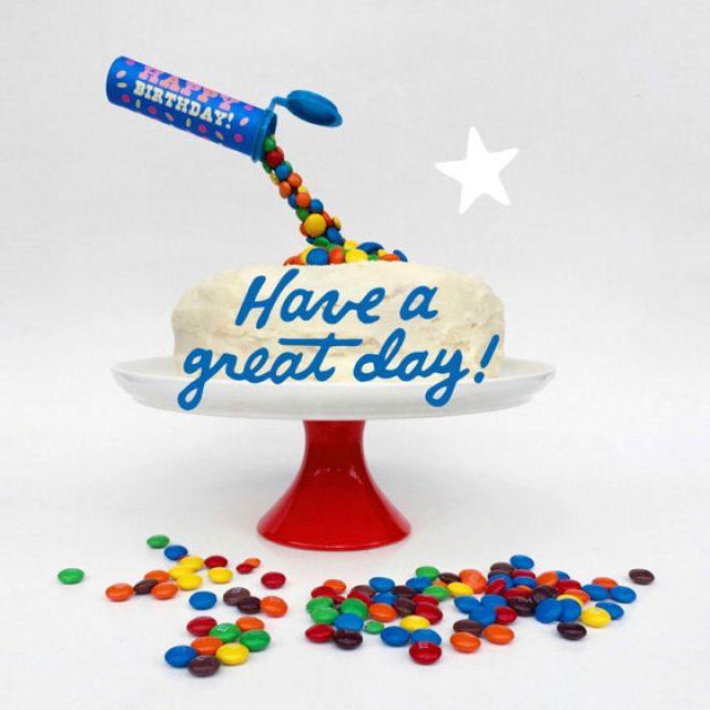Anti-gravity Birthday cake ideas