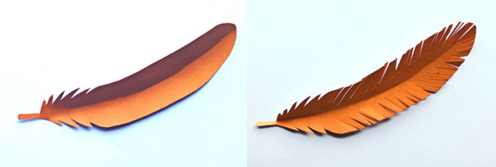 Paper flowers classroom craft activity easy make paper flowers easy diy tutorial orange colored paper feather templates mightylinksfo