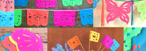 3 DIY Papel Picado templates