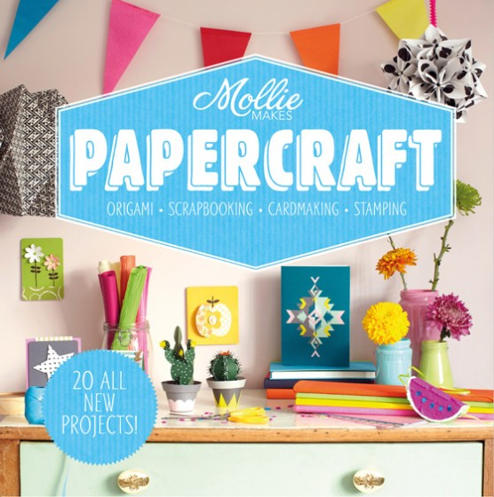 Happythought: Mollie Makes papercraft book at Amazon!