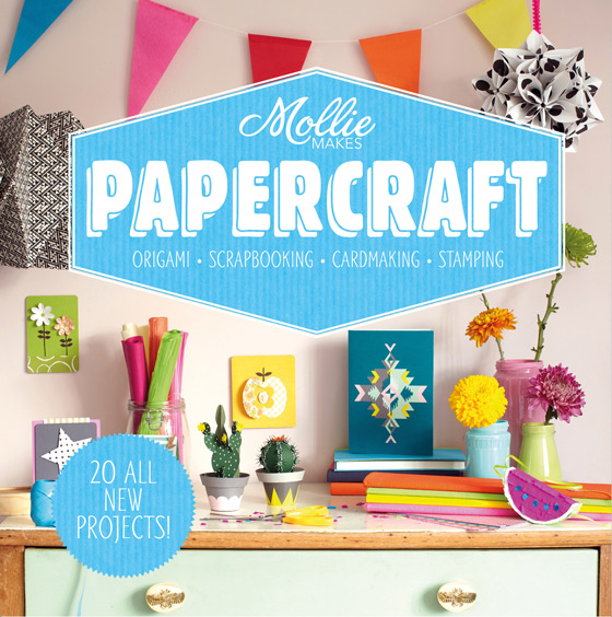Happythought: Mollie makes papercraft book amazon!