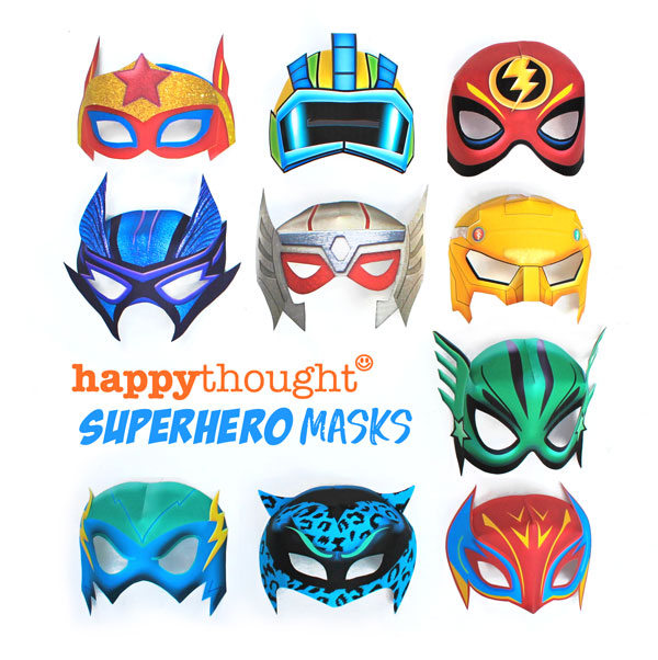 graphic relating to Printable Superhero Masks referred to as 10 Printable Superhero masks