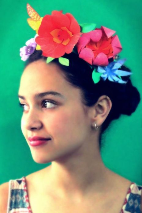 Paper flower crown templates and diy instructions