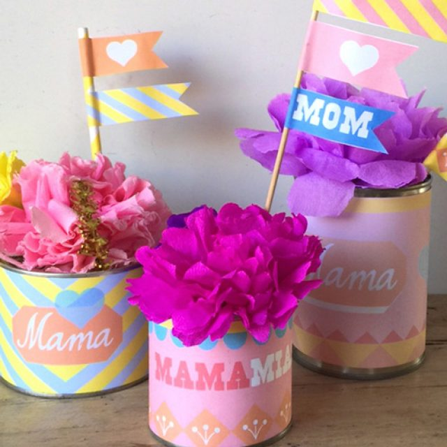 Mother's Day printable labels